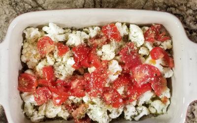 {Recipe} Quickie Cauliflower