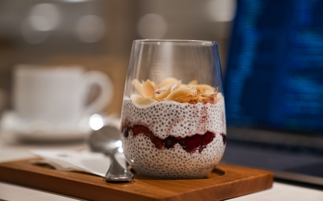 Hazelnut Latte Chia Pudding